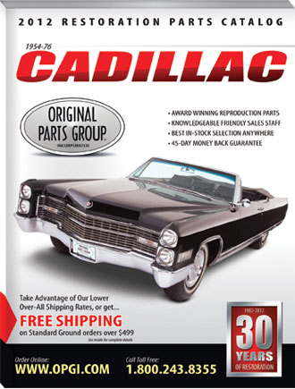 The 2012 Cadillac Restoration Parts Catalog is Here! | OPGI Blog