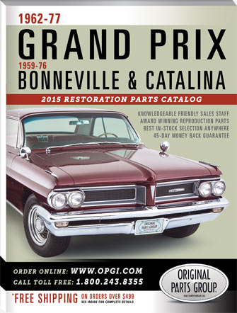 2015 Edition 1962-77 Pontiac Grand Prix & 1959-76 Bonneville