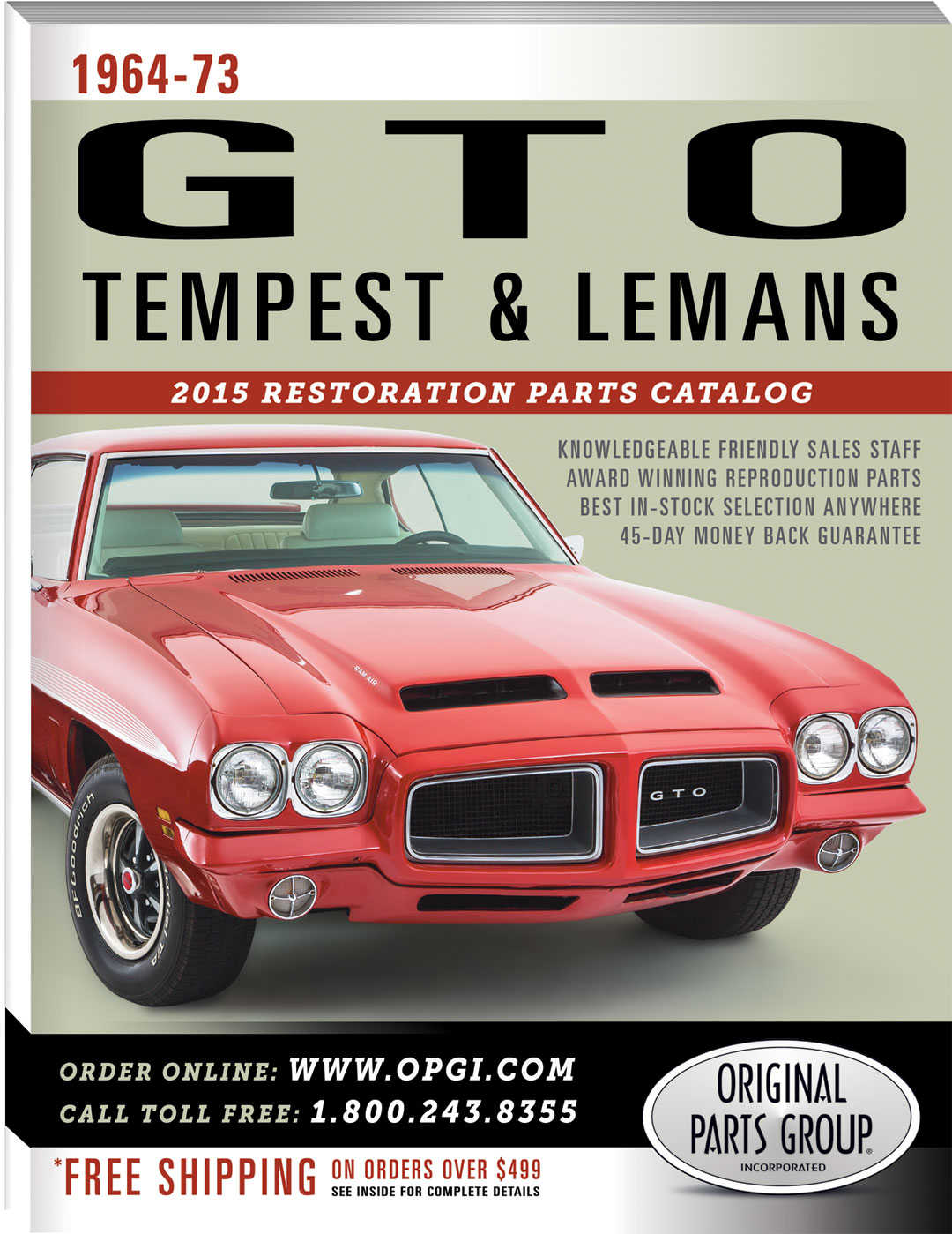 2015 1964-73 GTO and 1961-73 Tempest & Lemans Restoration