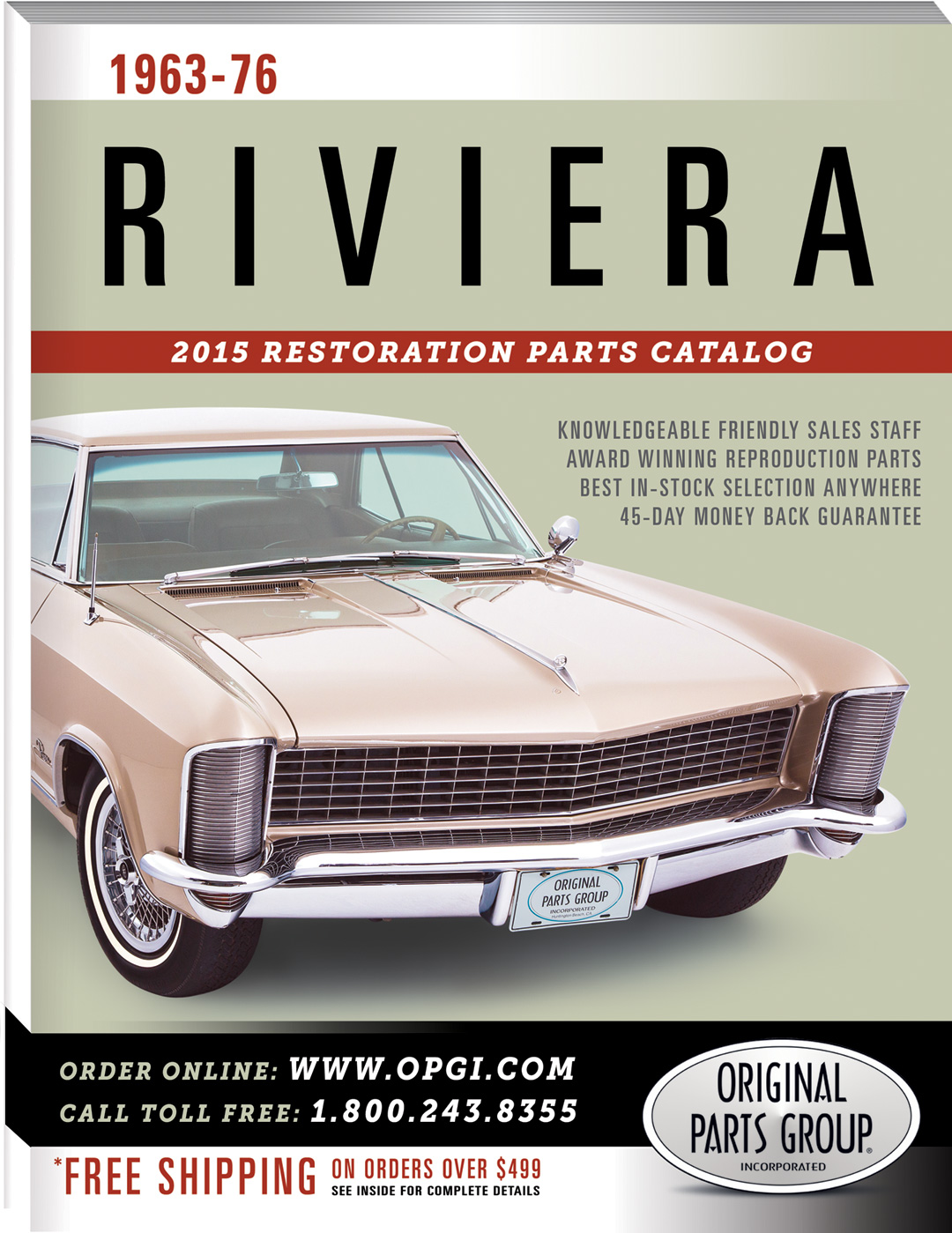 2015 Edition of 1963-76 Riviera Restoration Parts Catalog | OPGI Blog