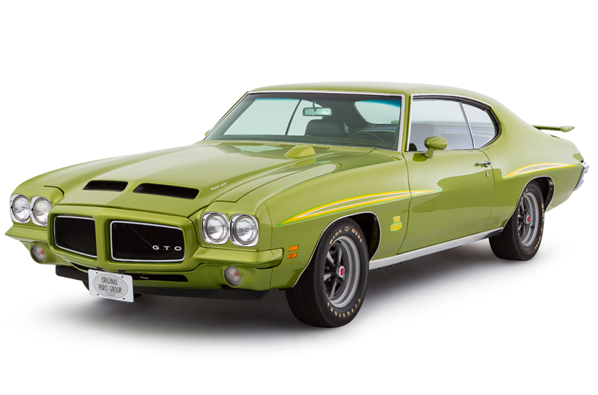 OPGI Customer Car Spotlight: 1971 Pontiac GTO Judge | OPGI Blog