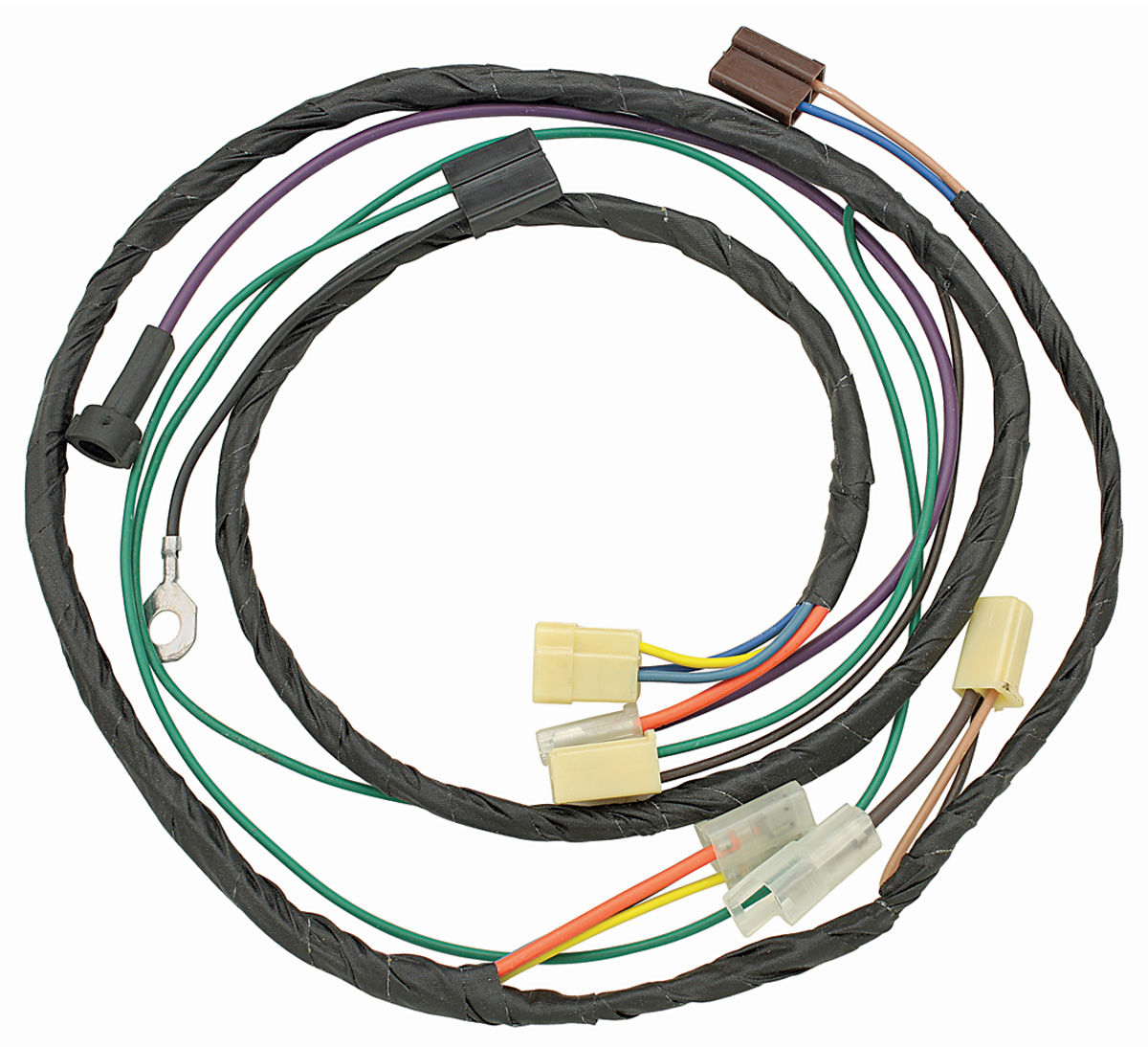 m&h 1971 cutlass/442 air conditioning harness 6-cyl. @ opgi.com 1971 oldsmobile 442 wiring harness