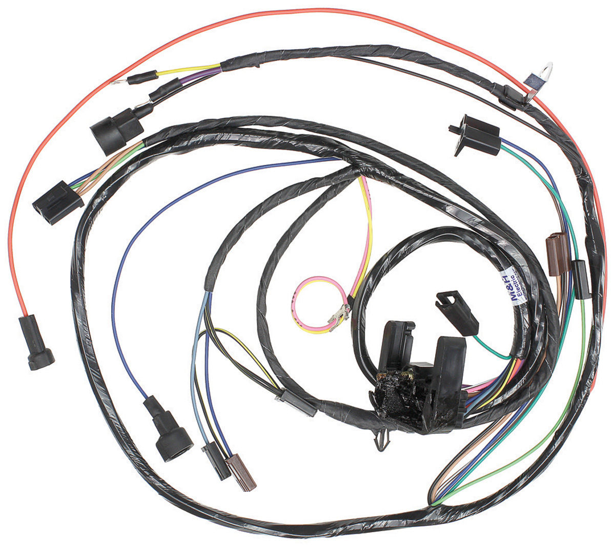 m&h 1971 monte carlo engine harness v8 (with automatic PT Cruiser Wiring Harness 1971 monte carlo wiring harness