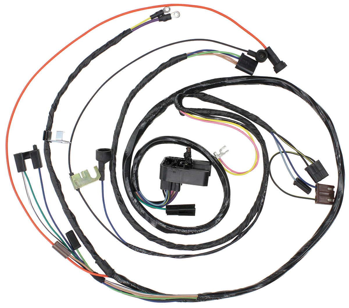 M&H 1971 Chevelle Engine Harness 396/454 Manual Trans. @ OPGI.com  Chevelle V Engine Diagram on 65 mustang engine diagram, 66 mustang engine diagram, 70 chevelle 454 engine, 06 mustang engine diagram,