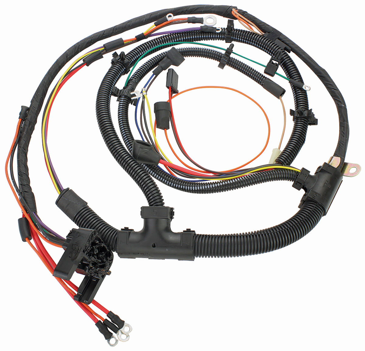 1973 Chevelle Wiring Harness Trusted Diagrams Diagram Mh 74 Engine 396 454 W Auto Trans Gauges 69