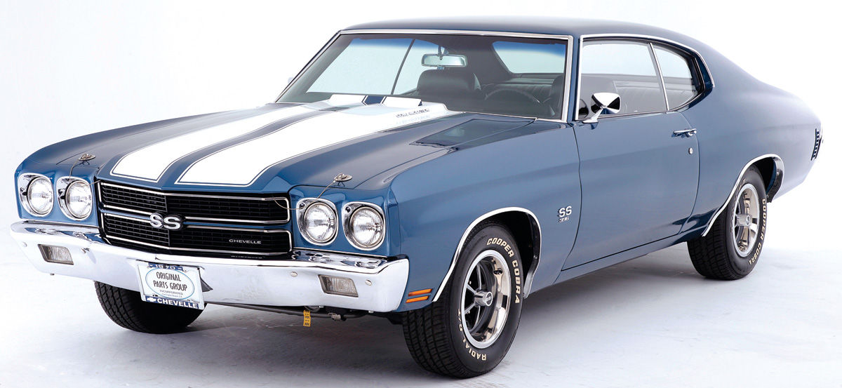 Chevelle Ss >> 1970-72 Chevelle Stencil Kit, 1970-72 Super Sport Hood and Deck Lid, by RESTOPARTS for years ...