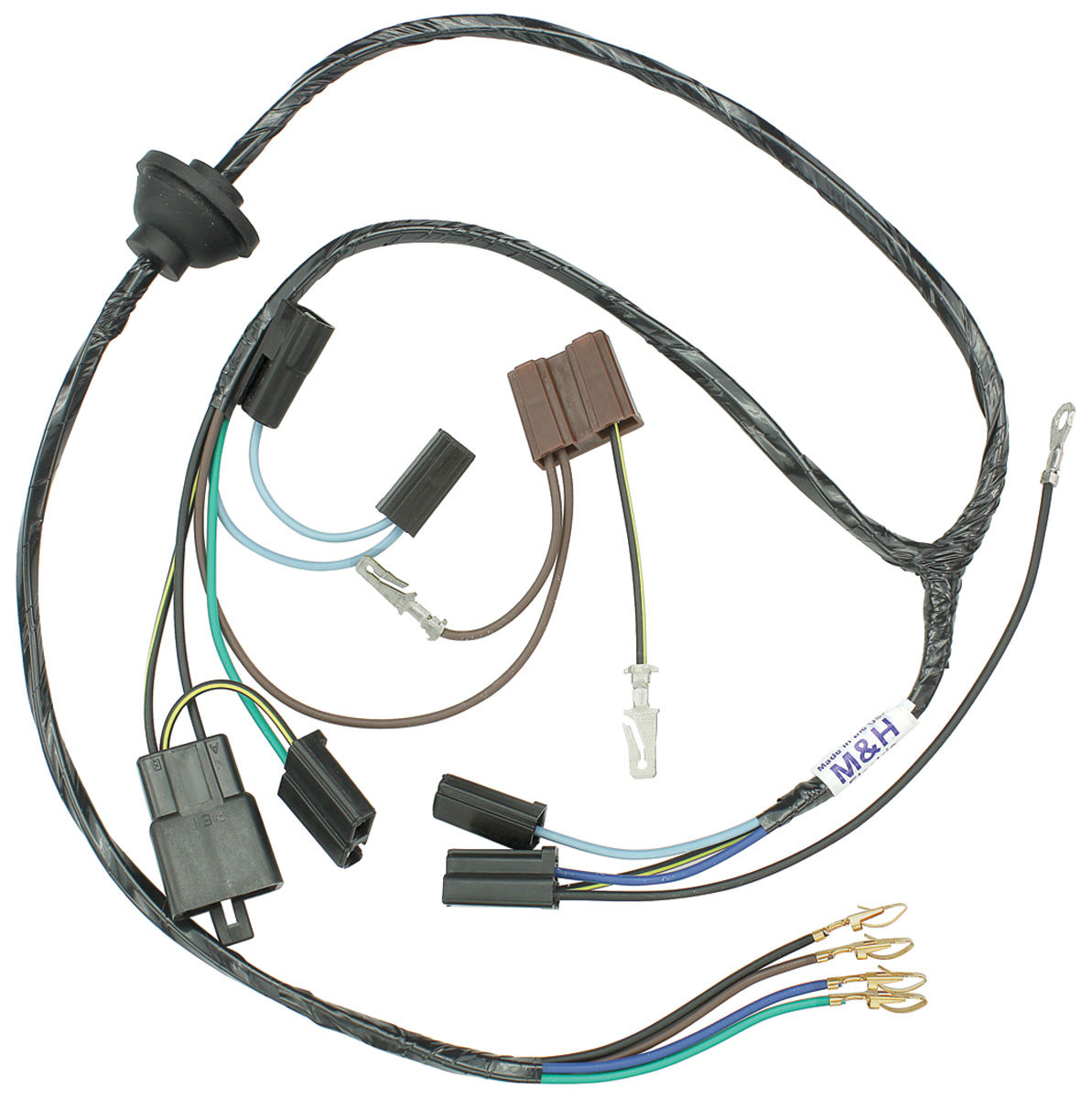 28255 lrg m&h 1970 monte carlo wiper motor harness (electro tip demand monte carlo wiring harness at bayanpartner.co