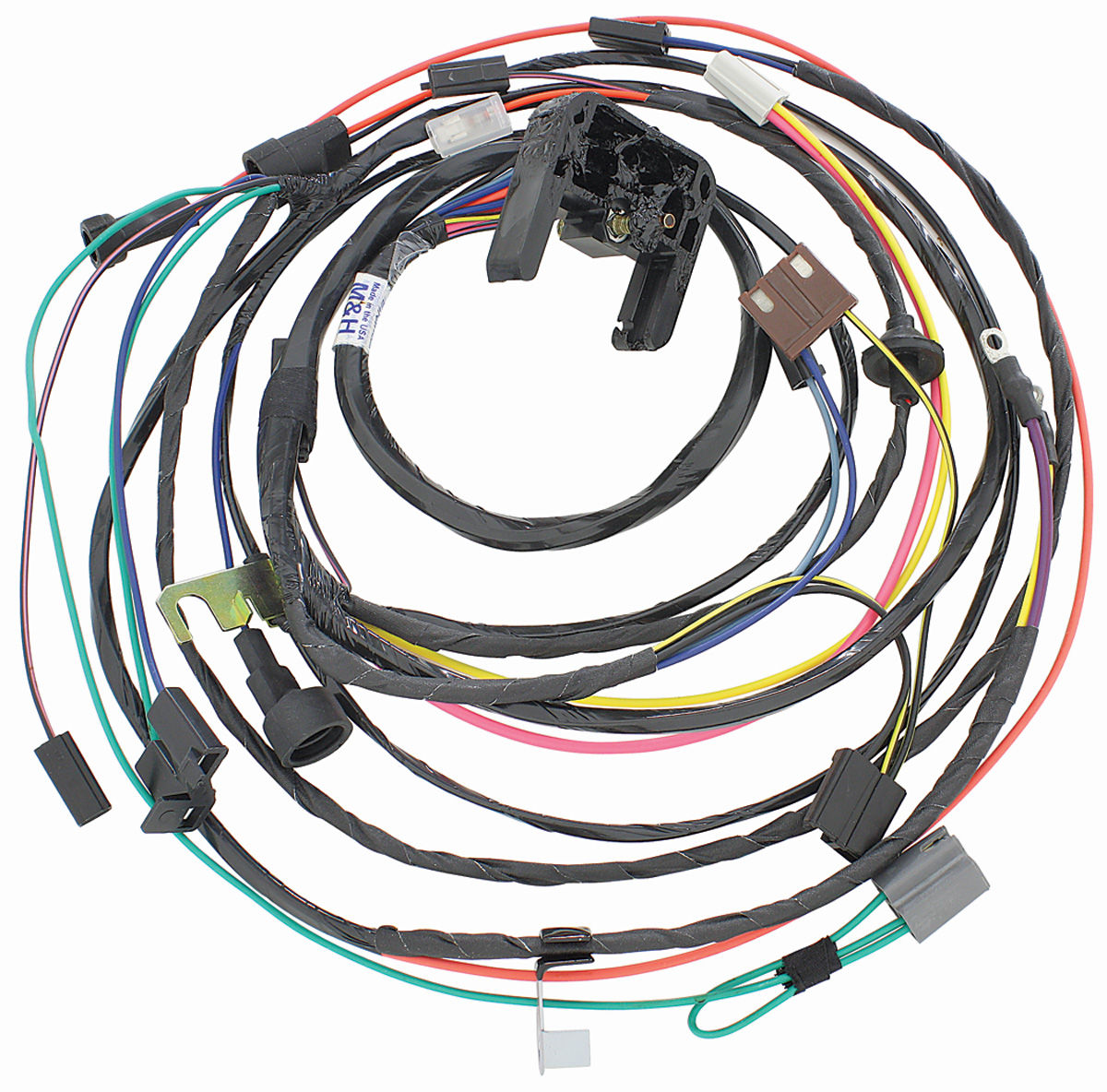 38928 lrg m&h 1970 chevelle engine harness 396 454 hei w auto trans @ opgi com 1970 chevelle engine wiring harness at n-0.co