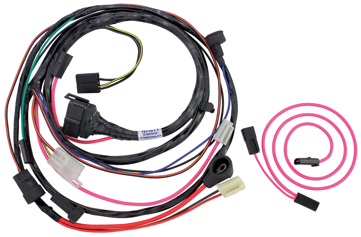 1967 GTO Engine Harness For HEI Ignition V8