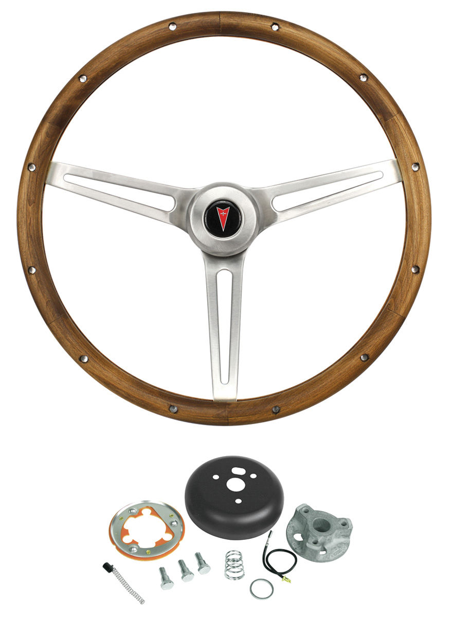 Steering Wheel Walnut Wood Fits 1969 73 Gto Opgi Com