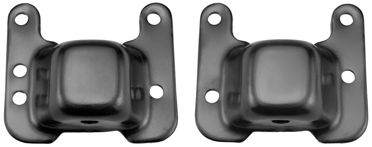 RESTOPARTS 1968-72 Chevelle Engine Mounting Brackets Mounts To Frame ...