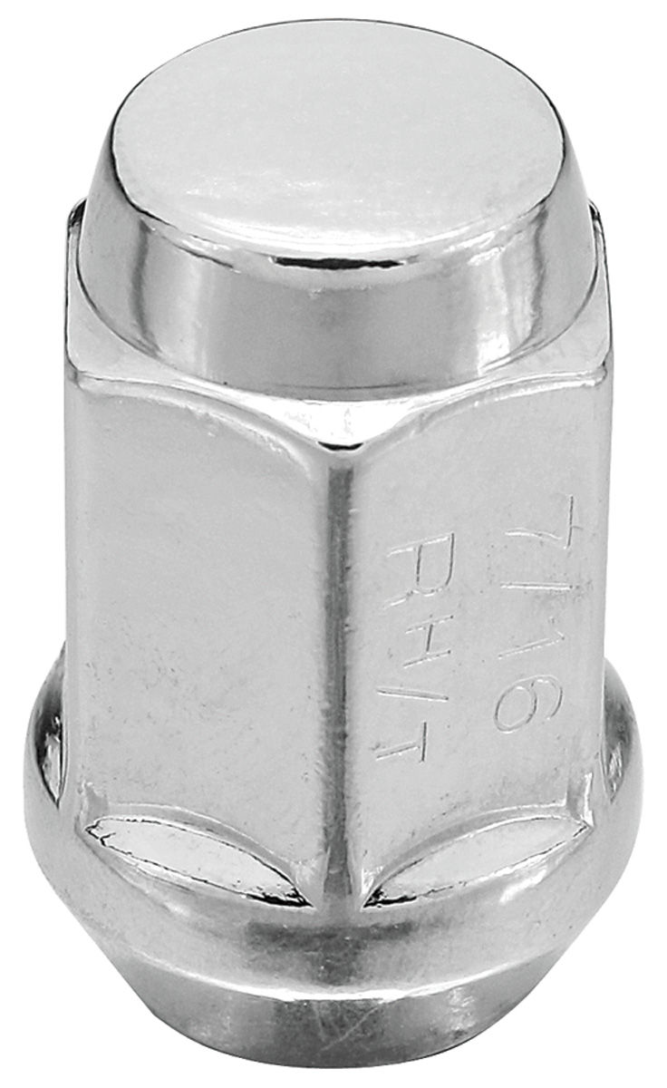 1964 1977 Chevelle Wheel Accessory American Racing Lug Nuts 7 16 20 RH Closed End