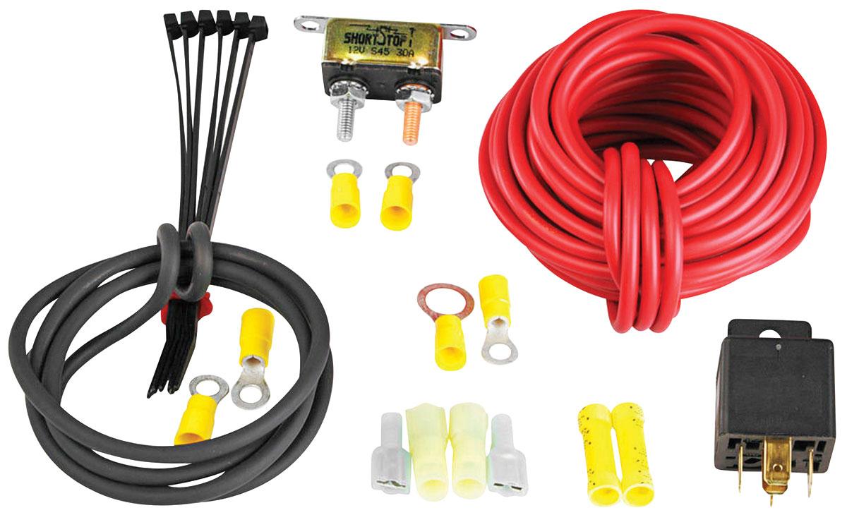 Aeromotive Wiring | Wiring Kit Fuel Pump Aeromotive Fits 1960 69 Corvair Opgi Com