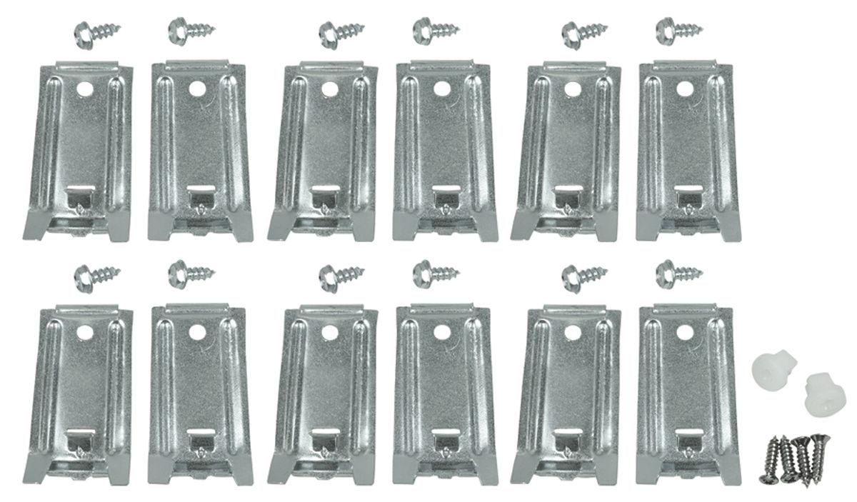 Gto Rocker Molding Clip Kit 12 Clips 1st Design Fits