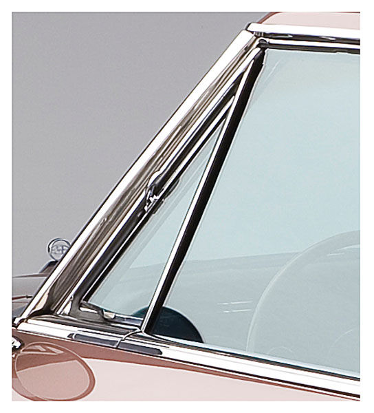 Steele rubber products 1963 65 riviera vent window glass for 1967 chevelle vent window assembly