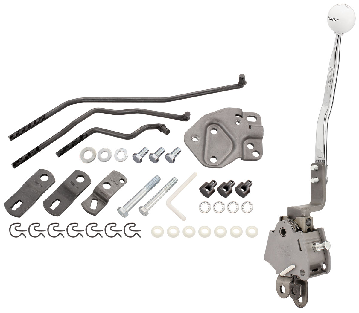 Shifter Kits, Competition Plus 4-Speed Muncie