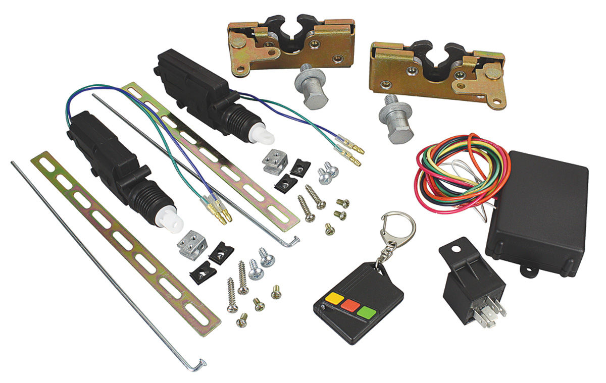 1964 77 Chevelle Remote Door Trunk Opener Sets 2 Dr Poppers Wiring Diagram