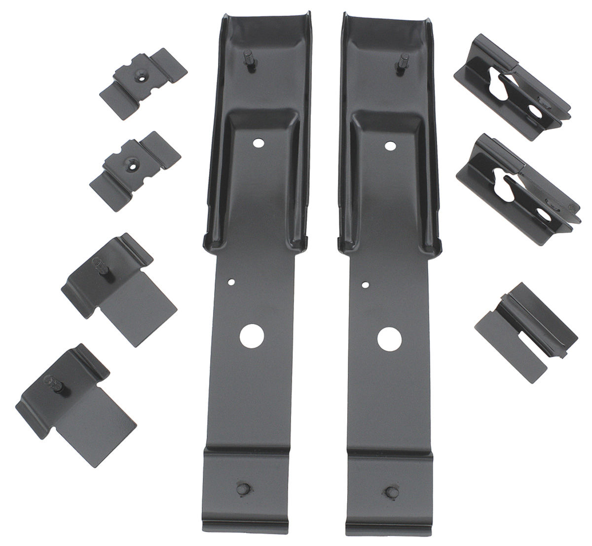 Chevelle Seat Mounting Brackets Front Bucket Rear Cpe