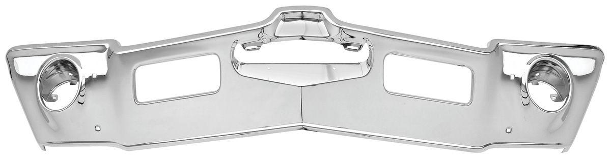 Bumper, Chrome Front Cutlass