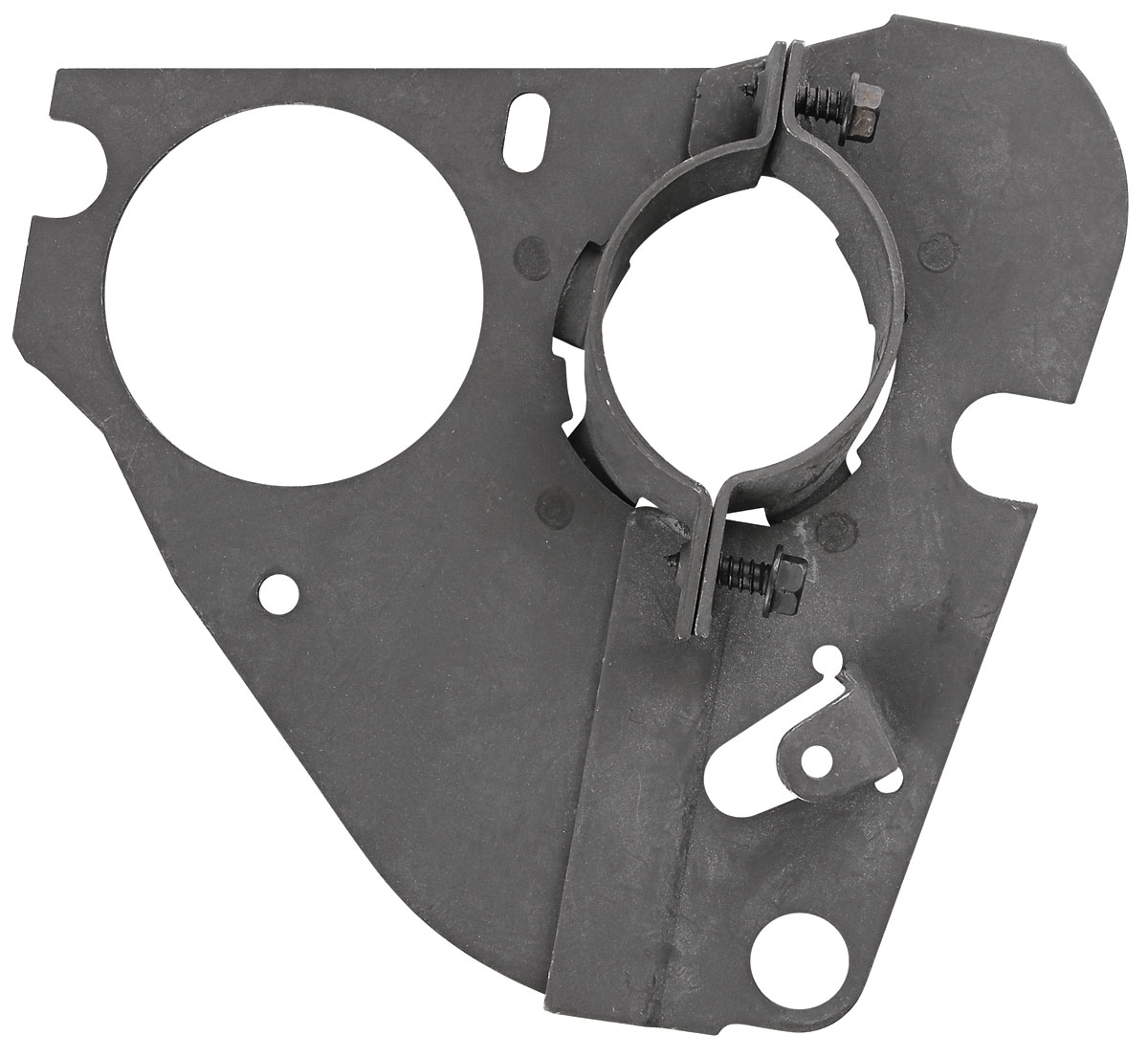 Steering Column Clamp Plates, Lower    manual