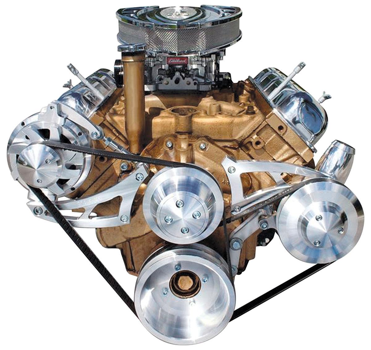 March Performance Cutlass 442 Track Serpentine Conversion