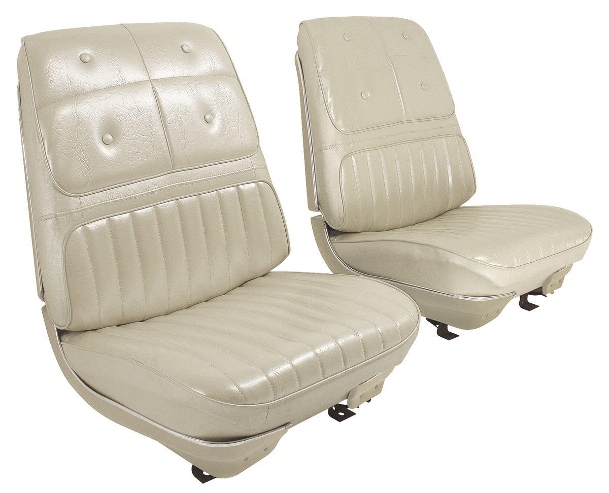 Seat Upholstery, 1970 Cutlass Supreme Holiday Coupe, Cutlass Supreme &  4-4-2 Holiday Convertible Rear Seat convertible
