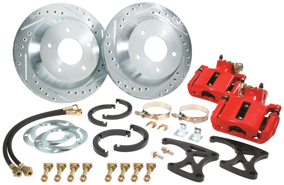 CPP 1957 68 Eldorado Brake Kit Rear Big Brake