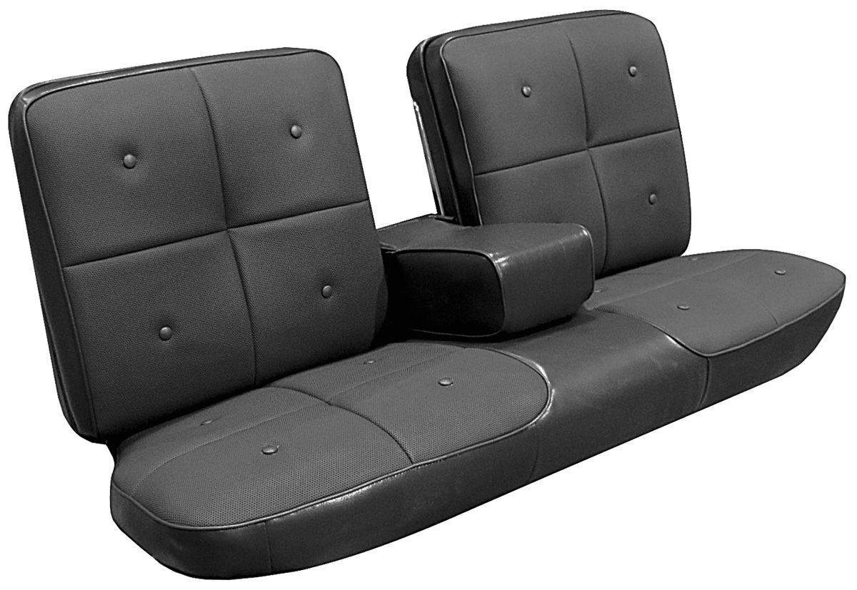1967 Cadillac Seat Upholstery 1967 DeVille Front Split