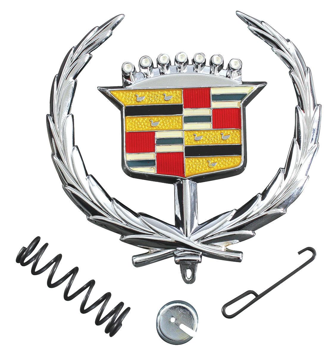 RESTOPARTS Hood Ornament Emblem, 1971-78 Eldorado