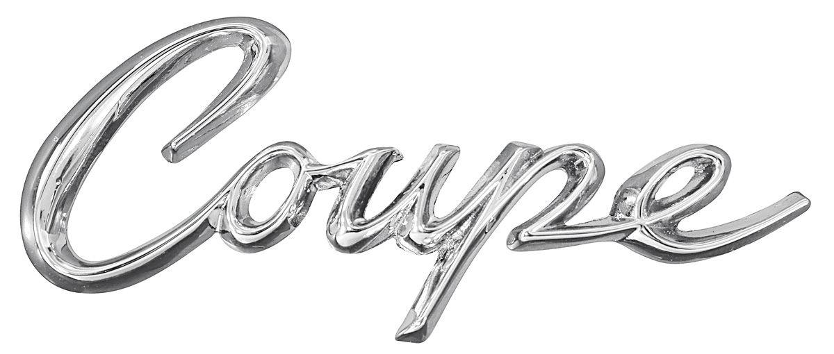 eldorado quarter panel emblem  1963