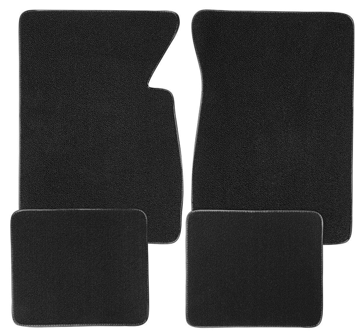 Floor Mats, Carpet Matched  Oem Style  plain