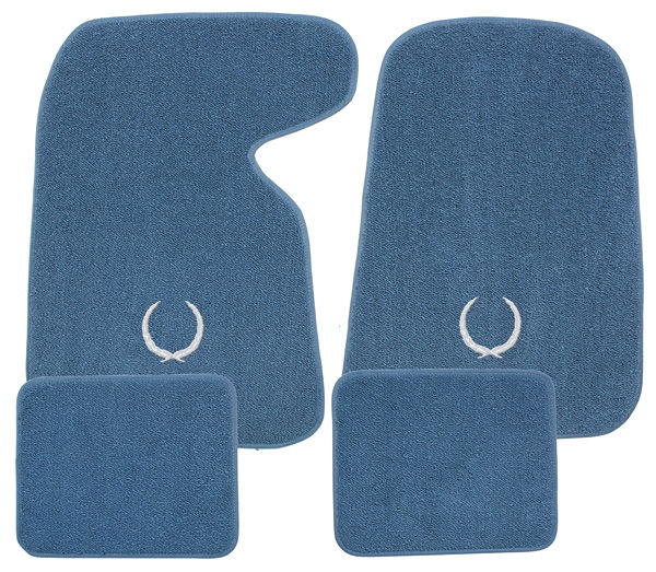 1936 93 Floor Mats Carpet Matched Oem Style With Cadillac Wreath Click To Enlarge
