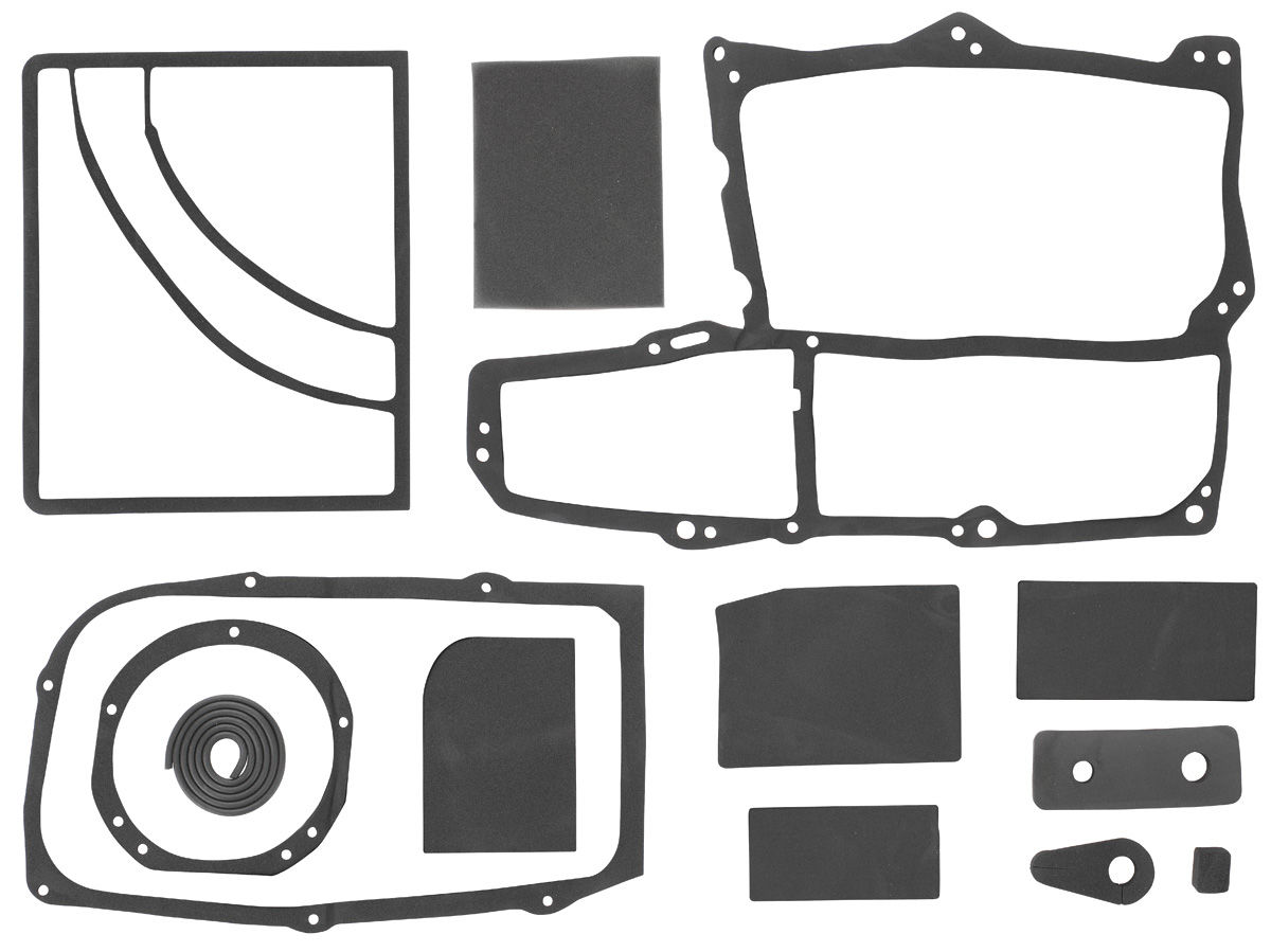Restoparts Heater Box Seal W Ac Fits 1964 67 Chevelle