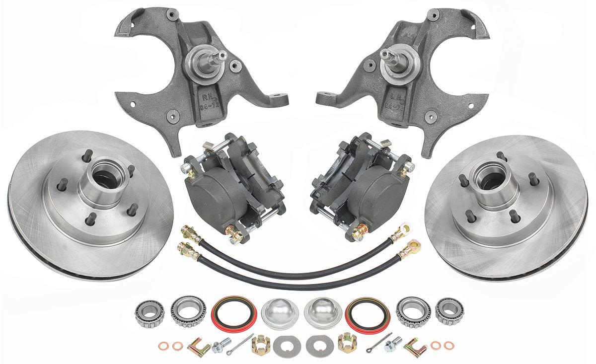 Cpp Brake Wheel Kit Drop Spindle Disc Standard 11