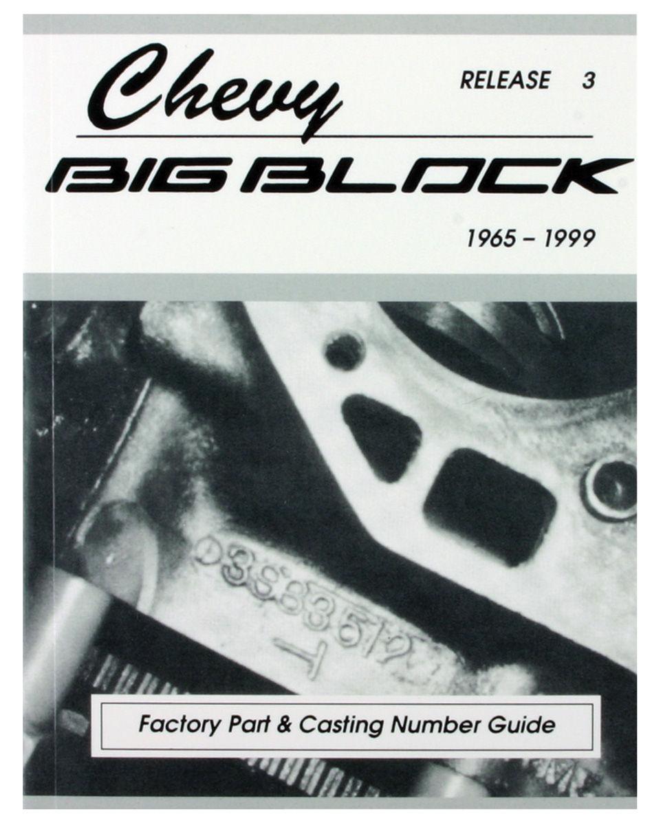 gm engine casting numbers big block