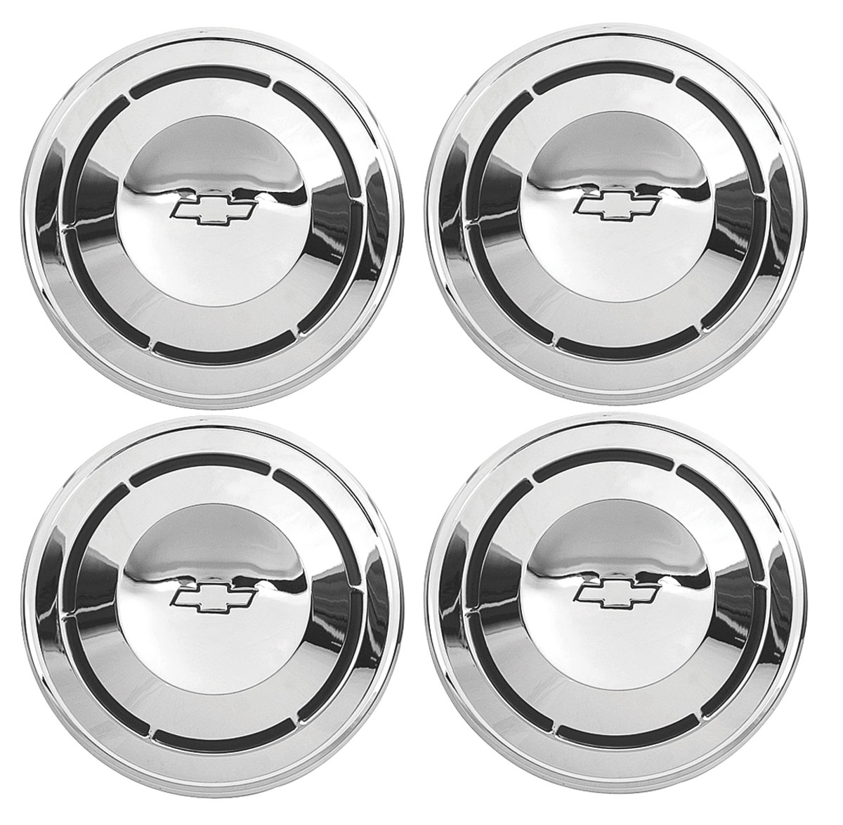 Chevelle Hub Caps Chevrolet Factory Style Fits 1968 70