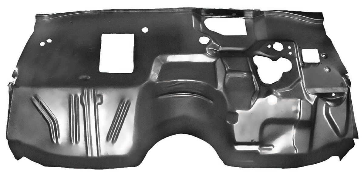 Restoparts Firewall Assembly Steel Coupe El Camino W Ac