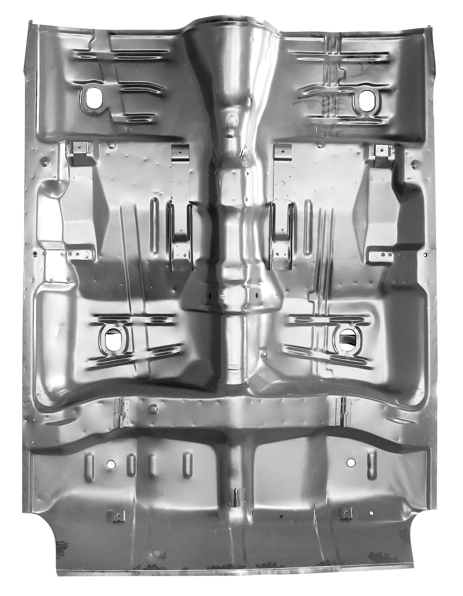 RESTOPARTS 1964 67 Floor Pan plete Chevelle w Braces