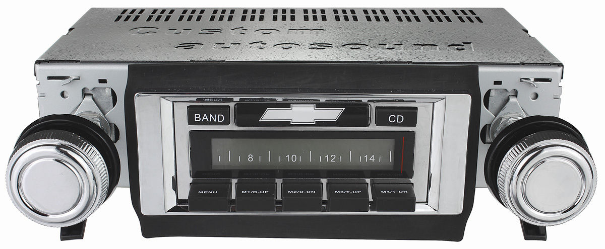 El Camino Stereo Custom Autosound Usa 630 Fits 1969 72 El