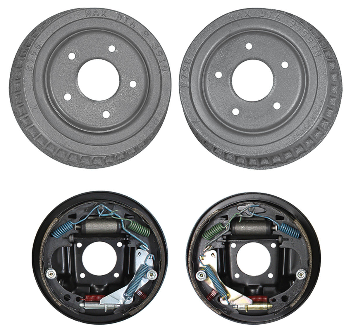 Superb Brake Assembly Rear Drum Fits 1964 72 Chevelle Opgi Com Wiring Digital Resources Remcakbiperorg