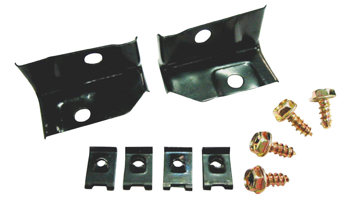 Chevelle Headlight Extension Mounting Brackets 1970 Fits