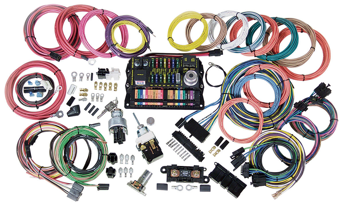 CH28826 lrg american autowire wiring harness kit, highway 22 @ opgi com Install American Autowire at n-0.co