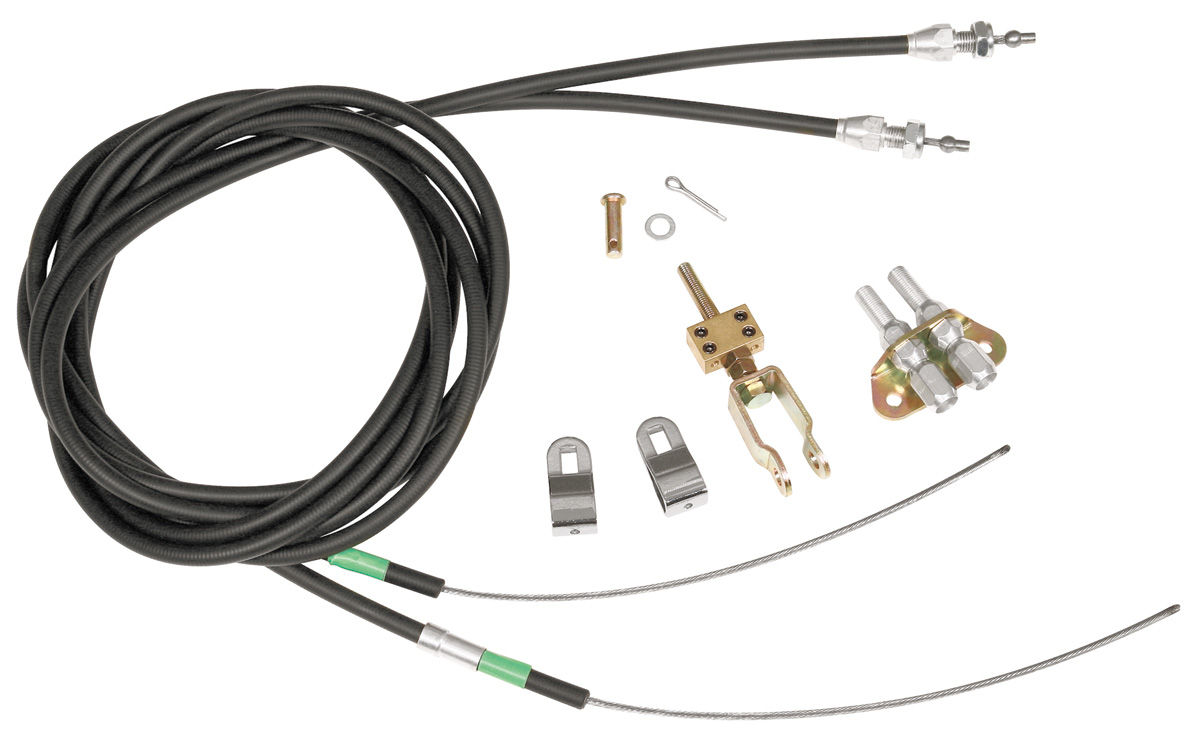 Wilwood 1964 72 Chevelle Parking Brake Cable Kit Rear