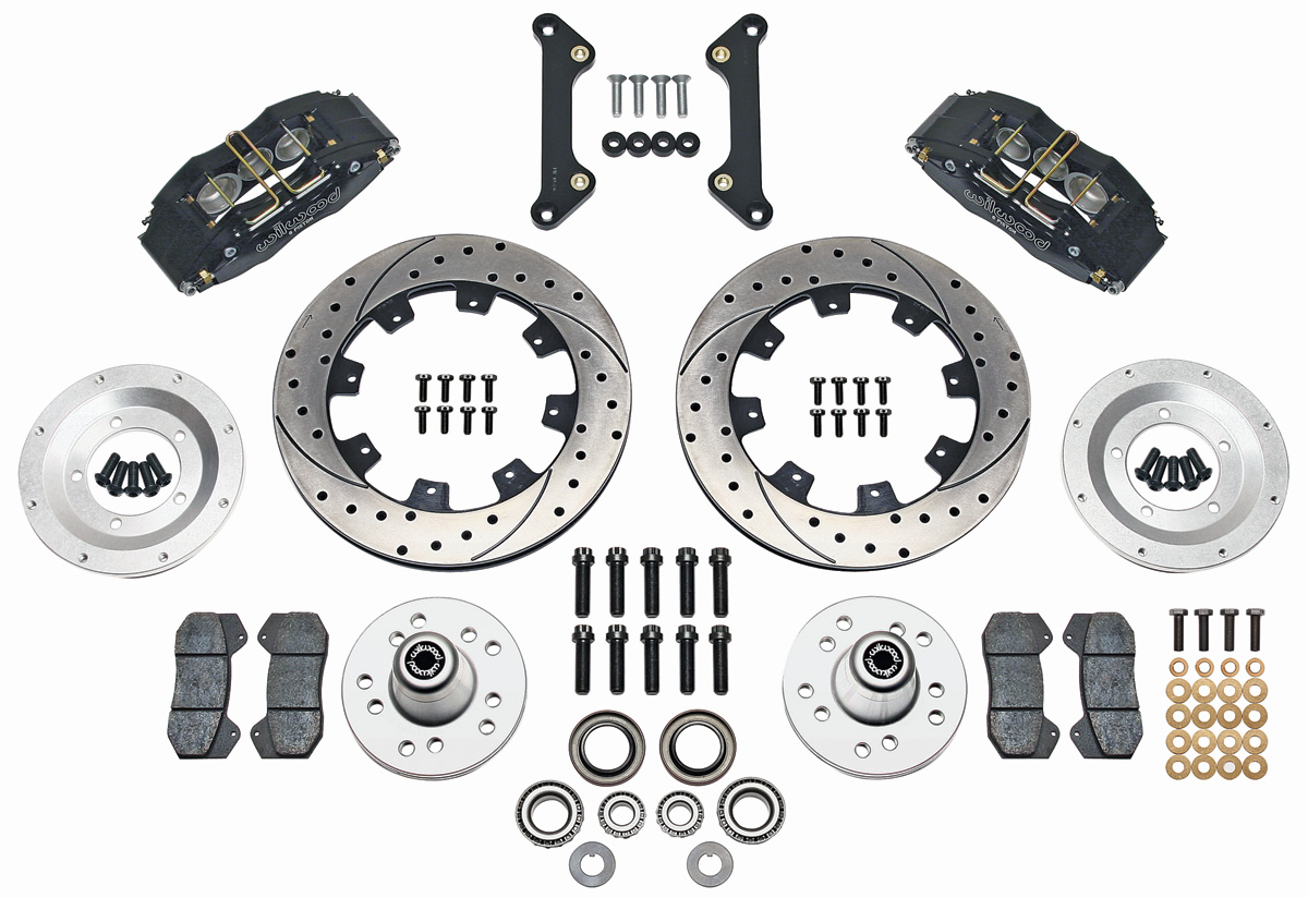 Wilwood Monte Carlo Brake Kit, Front (DynaPro 6-Piston Big