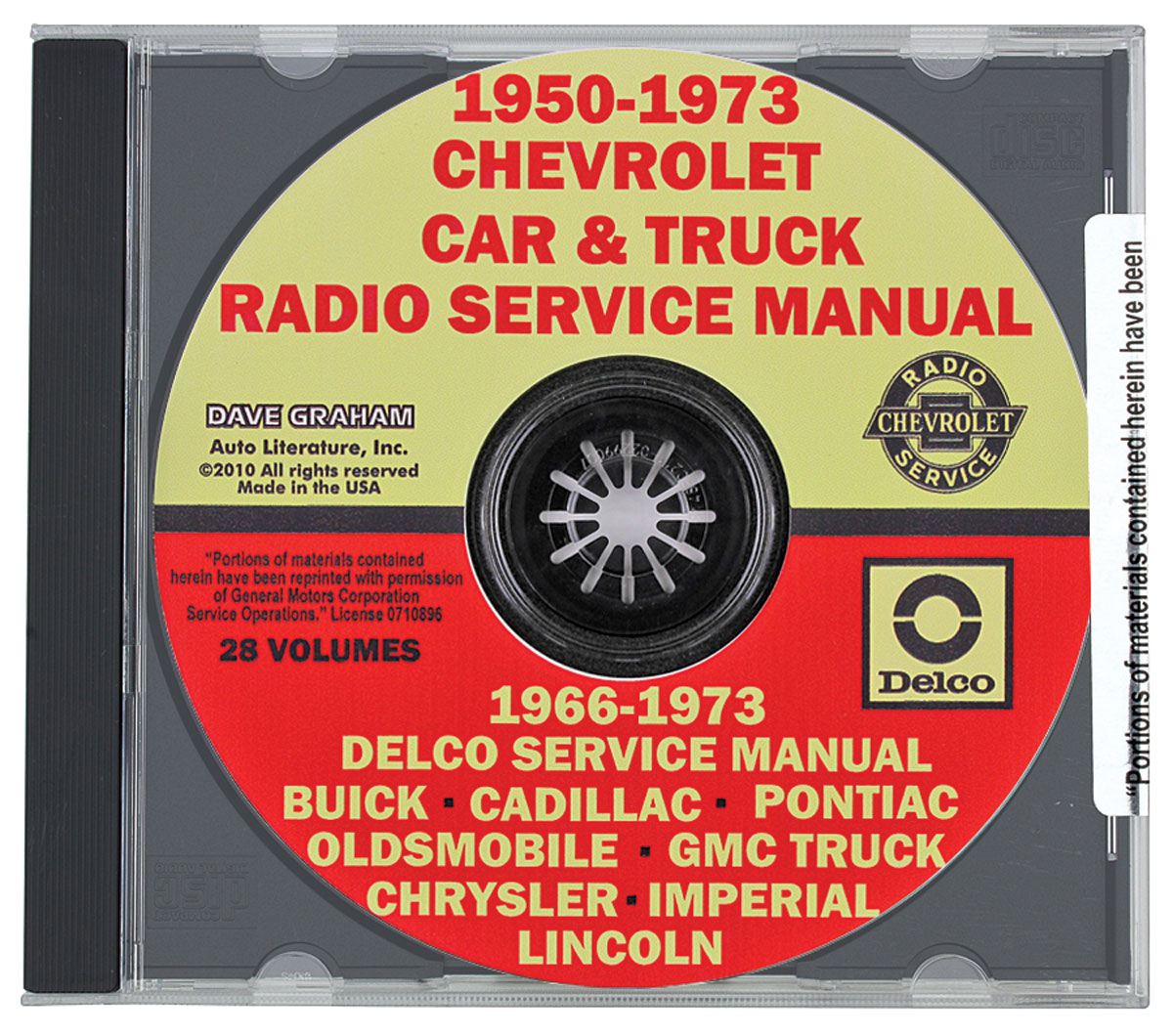 CD-ROM Radio Service Manual, GM