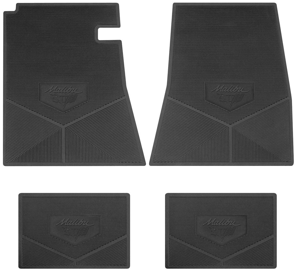 general mat for piece four design mud rubber floor fit fitted mats accessories asp cars set deep front