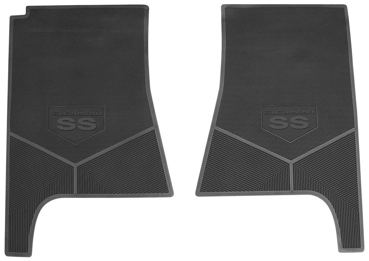 Legendary Auto Interiors 1970 72 Floor Mats Rubber Logo
