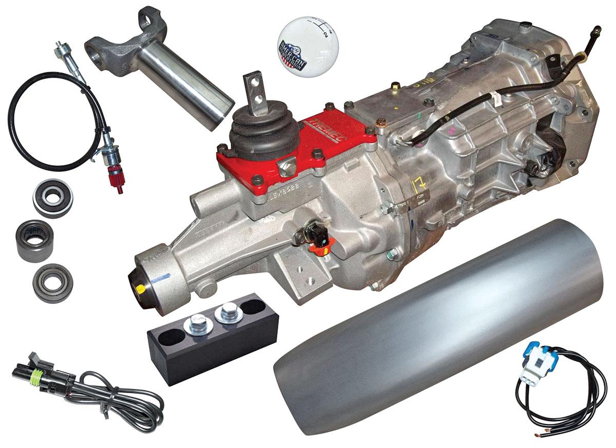 1964 72 Lemans Conversion Kit Profit T 56 Magnum 6 Speed Close 1967 Pontiac Le Mans Wiring Harness Ratio