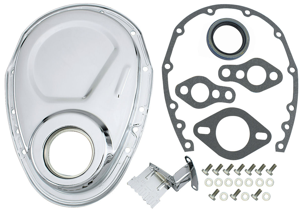 Timing Chain Cover Kit (Small-Block) Chevy 305