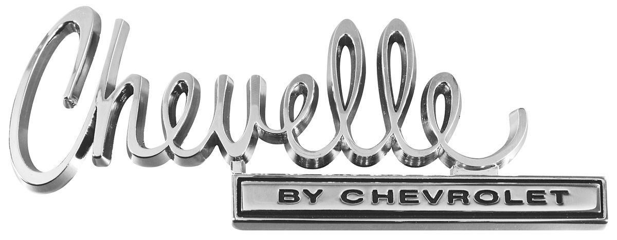 "1967 Chevelle Malibu >> TRIM PARTS Trunk Lid Emblem, 1970 ""Chevelle"" @ OPGI.com"
